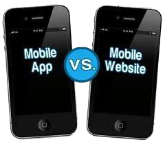 Mobile app or Mobile Website